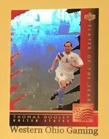 1994 World Cup USA Thomas Dooley #WC2 Player of the Year Soccer Card