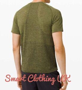Lululemon Men's Metal Vent Tech Short Sleeve 2.0            (Dark Olive) RRP £68