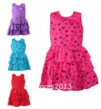 Robes décontractés polyester 10 - 11 ans pour fille de 2 à 16 ans