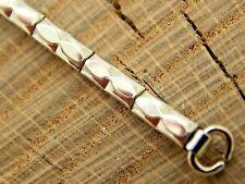 NOS White Gold Filled Expansion Rose Watch Band Ring End Vintage Unused Bracelet