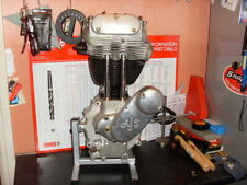 ajs..matchless. motor cycle engine work stand.