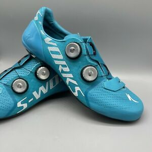 Specialized S-Works 7 RD Shoes Euro45 US 11.5 Road Bike Shoe Nice Blue