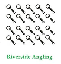 Micro Hook Ring Swivel Size 22 x20 Black Ring Carp Fishing Ronnie Rigs