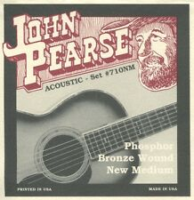 John Pearse 710NM Phosphor Bronze New Medium Strings (3 sets)