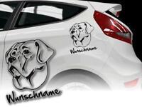 Ich fahre mit Sticker dänischer Molosser Auto Aufkleber Broholmer