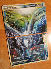 LP/NM COMPLETE Pokemon LUGIA LEGEND Card HGSS HEARTGOLD SOULSILVER 113-114/123