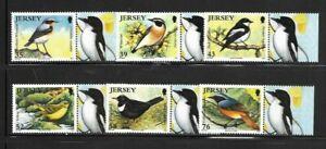 Jersey 2008 Birds set MNH