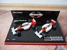 World Champion Set 3 McLaren Collection Senna 1990 1991 Minichamps 1:43 Top