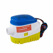1100GPH Wasserpumpe Lenzpumpe Bilgepumpe Bilgenpumpe Pumpe Automatisch