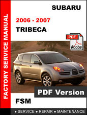 factory service repair manual ebay stores rh ebay com 2008 subaru tribeca owner's manual 2008 Subaru Tribeca Inside