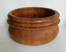 MCM BIRGIT KROGH Teak Salad Bowl Woodline Denmark BK