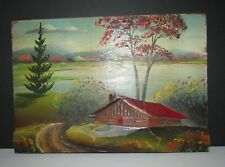 BEAUTIFUL HANGING WOOD CARVING SCULPTURE  CANADIAN QUEBEC ARTIST  H.NADEAU