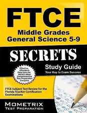FTCE Middle Grades General Science 5-9 Secrets : FTCE Subject Test Review for...