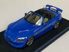 1/18 GT Spirit Otto Mobile Honda S2000 Type S in Blue OT 312 Suede Base