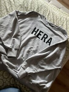 Hera London Sweatshirt - Medium - Black Logo