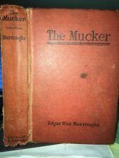The Mucker E R Burroughs Oct 1921 Grosset & Dunlap