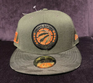 New Era - Toronto Raptors NBA Tip Off Army Fitted 7 1/2