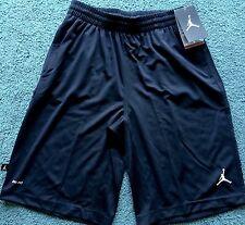 NWT Nike Air Jordan Boy XL Black/White Dri-Fit Basketball Shorts XL 18-20