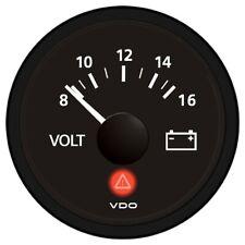 Vdo Viewline Onyx 12v Voltmeter A2C53191766-S