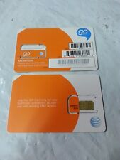 Oem New Prepaid At&T Sim Card Go Phone Sku 6006A Sim Card Only No Minutes!