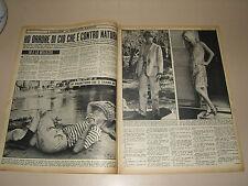 BRIGITTE BARDOT clipping ritaglio articolo foto photo=ANNI '50=64