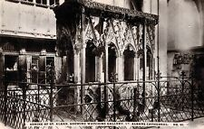 RPPC,St.Albans,U.K.Shrine of St.Albans,Watching Gallery,St.Albans Cathedral,1909