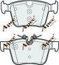 REAR BRAKE PADS FOR JAGUAR XF GENUINE APEC PAD2054