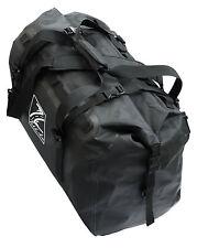 TekLite Pro Waterproof Motorcycle Luggage Roll Top Dry Bag Tail Pack 60L Black