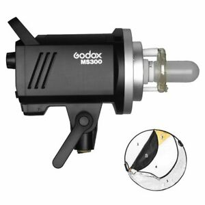 Godox MS300 2.4G 300Ws Bowens Studioblitz + 110cm Reflektor Set