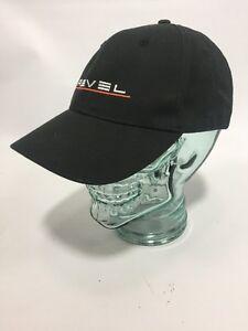 REVEL Hat Black Adjustable Strapback