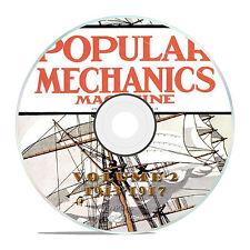 Classic Popular Mechanics Magazine, Volume 2 DVD, 1913-1917, 48 issues, V12