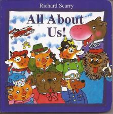 ALL ABOUT US! by Richard Scarry Children's Reading Picture Story Board Book NEW