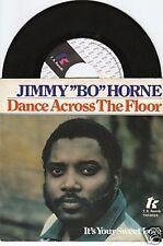 Jimmy Bo Horne dance across the floor 45/Dutch/pic