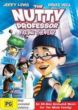 The Nutty Professor: Facing the Fear (2008) (Animated) * NEW DVD * Jerry Lewis