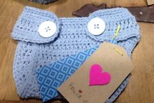 Cubrepañal Bebe Recién Nacido 0/3 Meses Nuevo Artesanal Algodón Crochet