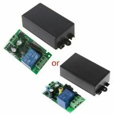 AC 220V 1CH RF 433MHz Wireless Control Remote Switch Module Learning Code Relay