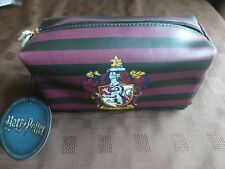 Harry Potter Gryffindor Crest make up bag pencil case BNWT School College stripe