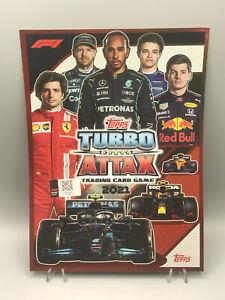 Topps Turbo Attax Trading Card Game 2021 1-203 Hamilton Schumacher Verstappen