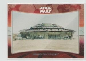 2015 Topps Star Wars The Force Awakens Series 1 Locations #4 of 9 Niima Outpost