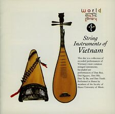 STRINGS INSTRUMENTS OF VIETNAM - WORLD MUSIC LIBRARY / KING RECORDS , JAPAN