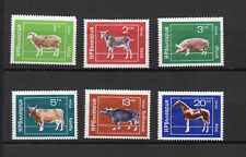 animaux 1974 Bulgarie 6 timbres non oblitérés sans gomme sans charnière /T4240