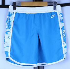 Nike Sportswear Blue Wave Short Shorts Size Large Cute Beach Swimming Trunks