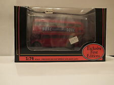 EXCLUSIVE FIRST EDITIONS EFE - 15601 ROUTEMASTER BUS B.O.A.C. - LONDON TRANSPORT