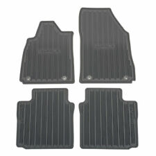 2014-2018 Chevrolet Impala Front & Rear All Weather Floor Mats 23238785 Titanium