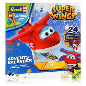 Revell Junior Kit 01024 Super Wings 2019 Adventskalender Jett Bauen