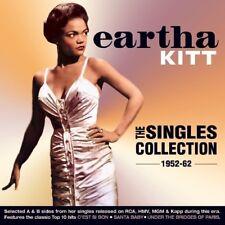 EARTHA KITT - THE SINGLES COLLECTION 1952-62  2 CD NEUF