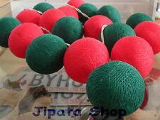 Red-Green Yarn Ball Party-Wedding-Decoration Christmas 110V Light String