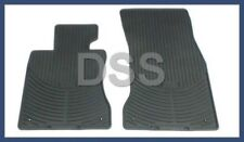 New Genuine BMW All Weather Rubber Black Floor Mats Front OEM 82550302997
