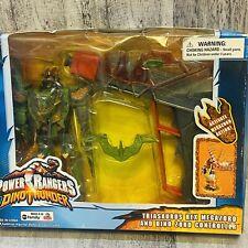 Power Rangers Rare Green Dino Thunder T-Rex Megazord & Dino Zord Controller BNM