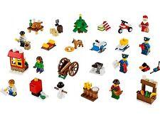 Lego City Set 60063 Calendario de Adviento ciudad 2014 completa bloques de ladrillos